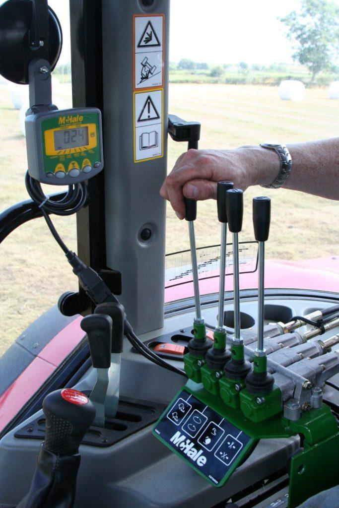 McHale Steuerung im Traktor